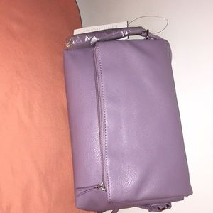 Lilac cross body purse